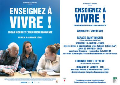 EAV Paris semaine du 17 janv-1