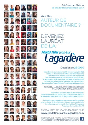 Fondation JLLagardere auteurDocumentaire
