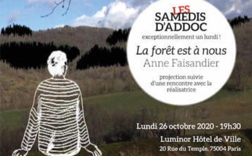 Samedi #28 – La forêt est à nous, d'Anne Faisandier